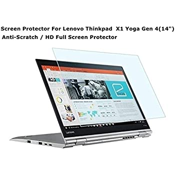Starfilm Screen Protector for Lenovo Thinkpad X1 Yoga Gen 4 14 Inch Full Screen Protector with Equipments Hole.Anti-scrath (X1 Yoga 2019 14