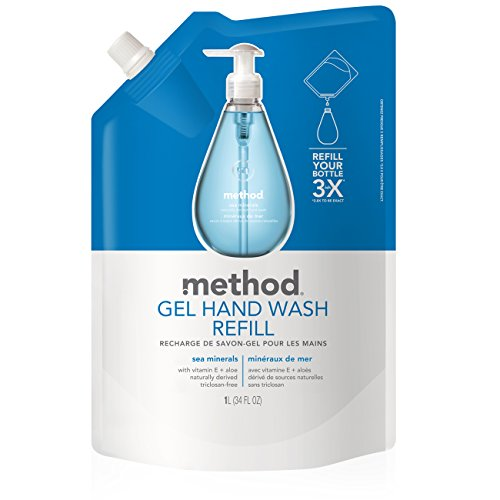 (Method Gel Hand Soap Refill, Sea Minerals, 34 Ounce)