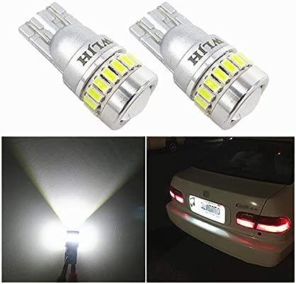 White 4-LED Xenon ICE Side Park Light Beam Bulbs Bright Upgrade Lamps