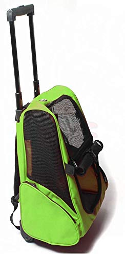 YZjk Travelling Pet Band Pet Trolley Case Carrier Mochila Transpirable para Perros Mochila para Gatos Mochila Plegable para Perros de Doble Hombro Bolsa para Gatos Portabicicletas con Ruedas: Amazon.es: Hogar
