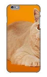 Crooningrose Durable Animal Cat Back Case/ Cover For Iphone 6 Plus For Christmas