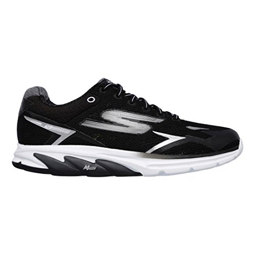 Skechers Mens Go Meb Strada 2 Breathable Cushioned Track Running Shoes Black cheap price low shipping fee 8AismSt9