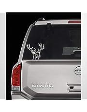 Calcomanía de venado para ventana de coche, calcomanía personalizada, calcomanía de coche, para caza, coche, ventana, vinilo, troquelado, divertido portátil, pegatinas de parachoques