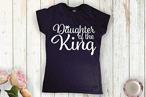 Amazon com: Daughter of the King Christian t-shirt godly