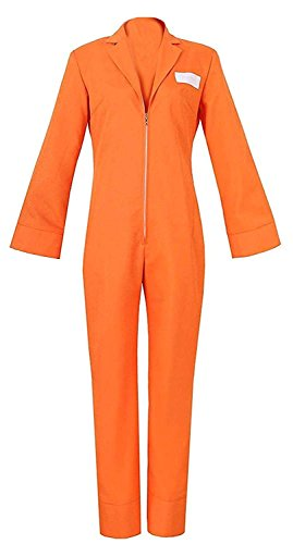 LYLAS Orange Coverall Halloween Suit Uniform Jumpsuit Cosplay Costume (Costom Made) for $<!--$75.99-->