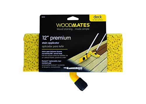 Mr. LongArm 0350 Woodmates 12-Inch Premium Stain Applicator