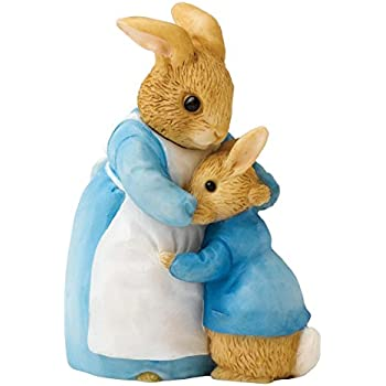Beatrix Potter Miniature Figurine - Mrs Rabbit and Peter (A26909)