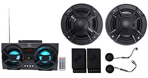 "Polk Audio DB5252 5.25"" 600w Component Car/ATV/Motorcycle Speakers+Free Speaker!"
