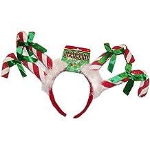 Forum Novelties Christmas Headbands (Candy Cane)