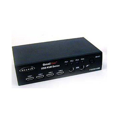 Belkin OmniView SOHO Series 4-Port KVM Switch with Audio
