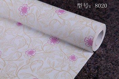 REAGONE PVC autoadhesiva, papel tapiz, papel tapiz, calcomanías autoadhesivas y otros envases que es de 10 m, rollo de Oro 8020, Gran