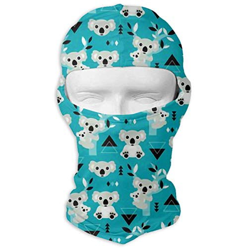 Windproof Balaclava Hood, Australia Koala Bear Cover Face Mask for Activities Skiing -