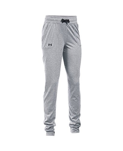 Under Armour Girls' Graphic Texture Tech Jogger, Stealth Gray/Black, Youth X-Large