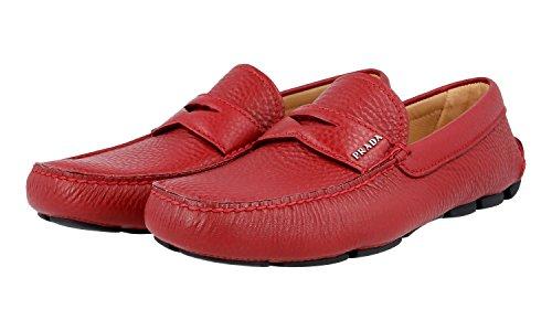 Prada Heren 2dd001 Xw8 F0041 Lederen Zakelijke Schoenen