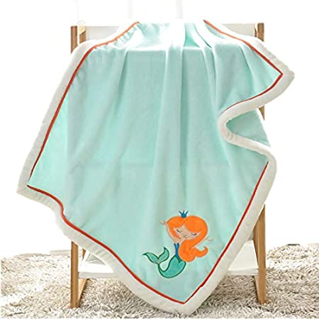 413ZU0MMBCL._SS450_ Mermaid Crib Bedding and Mermaid Nursery Bedding Sets