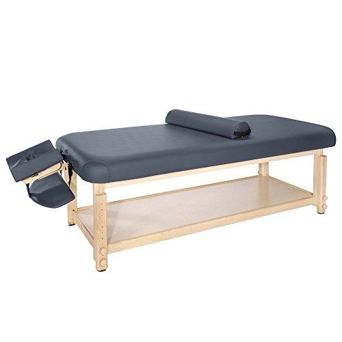 "Master Massage 30""Laguna Stationary Massage Table, Navy Blue"