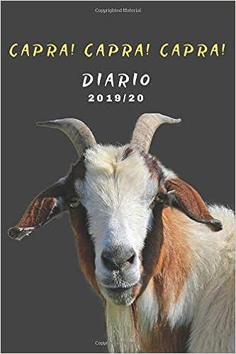 Diario della capra 2019 2020 capra! capra! capra!: Agenda ...