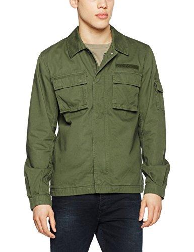 Thyme para Chaqueta amp; JONES Verde Hombre Jacket Jorpaint Field JACK xzFYqYU