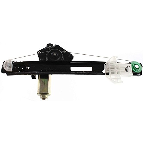 Rear Window Regulator for Ford Ford Focus 00-07 Left Power W/Motor (5-Door Hatchback)/Sedan/Wagon