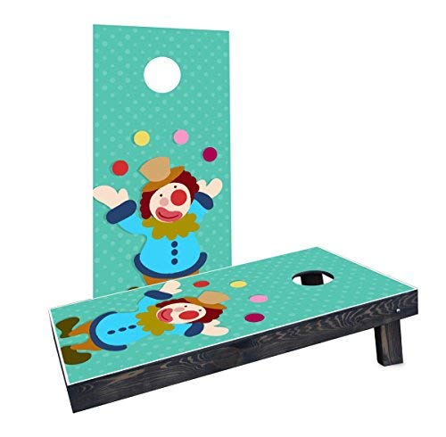 Custom Cornhole Boards Incorporated CCB37-C-RH Kids Theme #3 Cornhole Boards [並行輸入品] B07HLFMLPJ