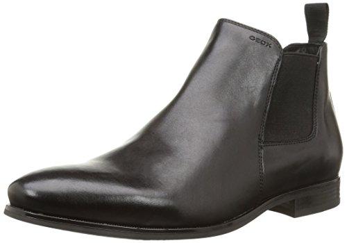 Geox U Albert 2fit I, Men Chelsea Boots Black (Blackc9999)