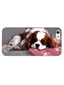 3d Full Wrap Case For HTC One M7 Cover Animal King Charles Spaniel