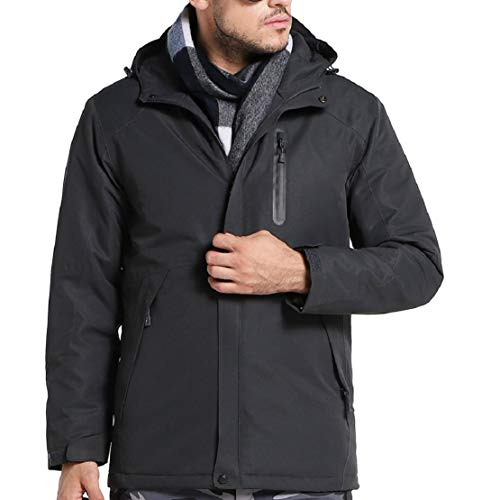 Women Men Winter Warm Electronic Heating Jacket USB Slim Fit Heated Jacket Work Motorcycle Riding Coat by Lowprofile (Best Electronics Sales After Christmas)