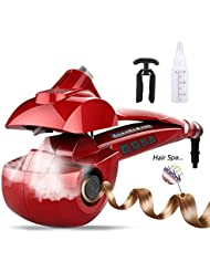Automatic Hair Steam Curler Ceramic Curling Iron Bar...