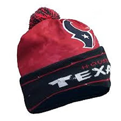 Forever Collectibles NFL Houston Texans Camo Light Up Knit Beanie Hat