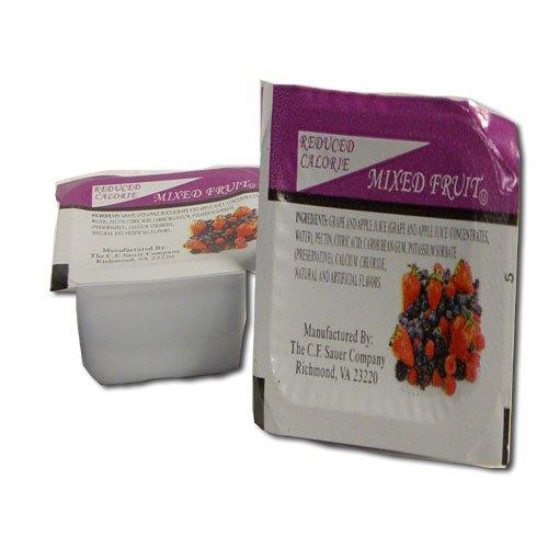 C.F. Sauer Foods Grape Mixed Fruit Assortment Jelly, 10 Gram - 200 per case.