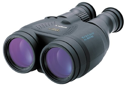 Canon 15x50 Image Stabilization All Weather Binoculars w/Case, Neck Strap & Batteries