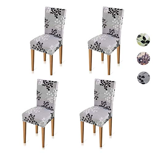 Xflyee Stretch Dining Room Chair Covers Jacquar...