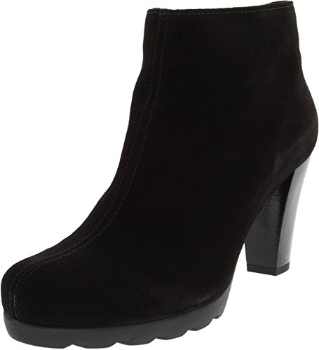 italian suede boots - 9