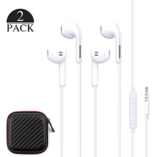 Stereo Earphones for Smartphone (White) - 2