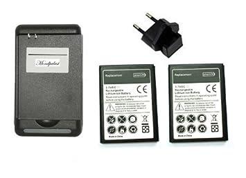 2 X BATERIA 2800 mah + cargador PARA SAMSUNG GALAXY S4 ...