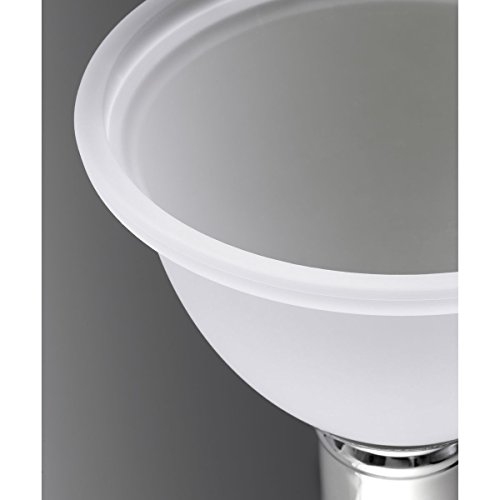 Progress Lighting P5079-09 1-Light Pendant with White Etched Glass, Brushed Nickel