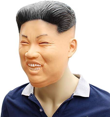 RENS Máscara De Halloween Kim Jong-Un, Máscara De Cara Completa De ...