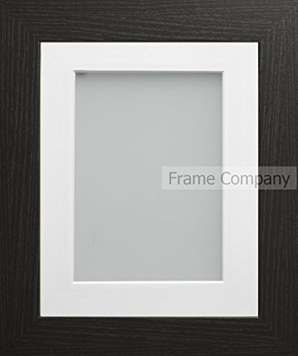 Amazon.com: Frame Company 10x8-Inch Picture Photo Frame Black with ...
