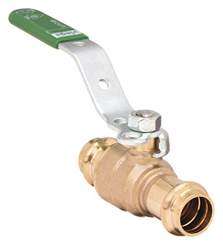 - VIEGA PROPRESS Zero Lead Bronze Press x Press Ball Valve, Locking Lever, 3/4