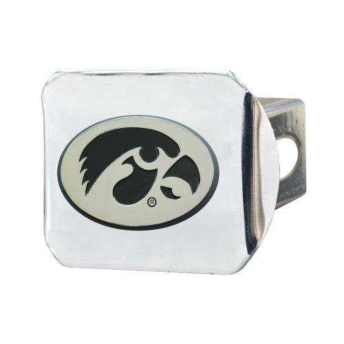 Fanmats NCAA Universidad de Iowa Hawkeyes cromo enganche de remolque