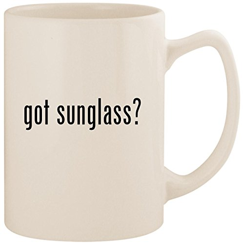 got sunglass? - White 14oz Ceramic Statesman Coffee Mug - Wholesale Cartier Glasses