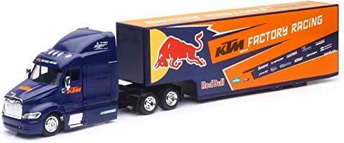Team Ray Trucks >> New Ray 1 43 Red Bull Ktm Factory Team 2017 Peterbilt 387
