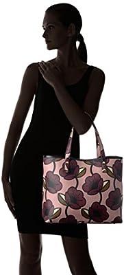 Orla Kiely Passion Flower Print Textured Vinyl Tillie Bag