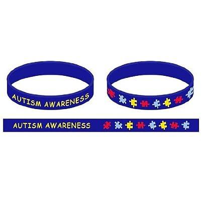 Autism Awareness Wristband Adults Estimated Price -