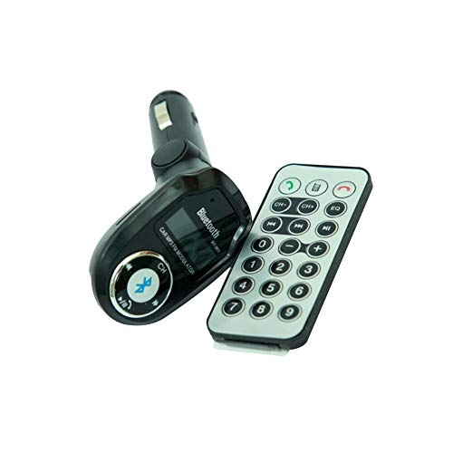 ETbotu Vehicle Car Kit Charger MP3 Player Wireless Transmissor FM Transmitter Bluetooth Remote for Most Phone