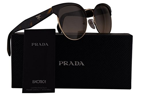Prada PR61TS Sunglasses Brown Pale Gold w/Brown Gradient Grey 54mm Lens DHO3D0 SPR61T PR 61TS SPR - Prada Www Sunglasses Com