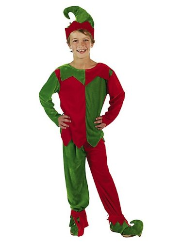 Fun Express - Child Elf Large/XLarge Size for Christmas - Apparel Accessories - Costumes - Kids - Unisex Costumes - Christmas - 5 Pieces