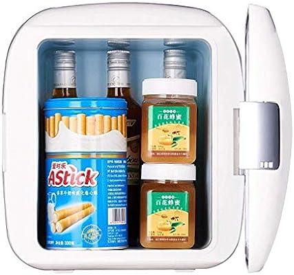 TIAH escritorio blanco mini nevera y caja de hielo [Energía grado ...