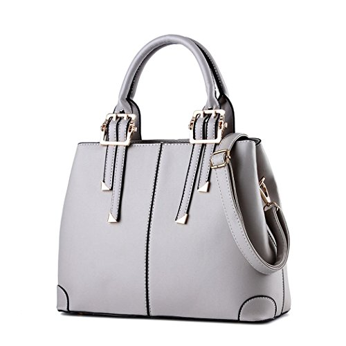 Ryse Womens Fashionable Classic Metal Double Buckle Temperament Handbag Shoulder - Marcjacobs Sale