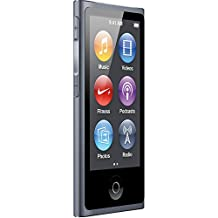 LATEST MODEL Apple Ipod Nano 7th Generation 16 GB Slate With Apple White Earpods and A USB Data Cable (Non Retail Packaged in a White Box), Model: MD484LL/CALI, Electronics & Accessories Store